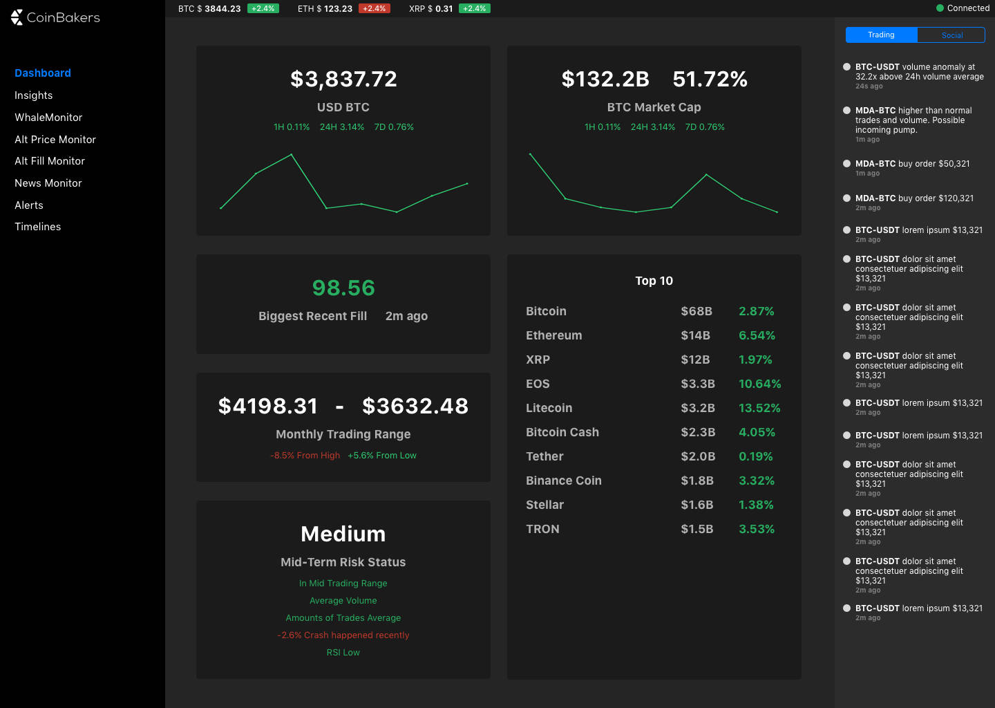 Alt Tools Dashboard
